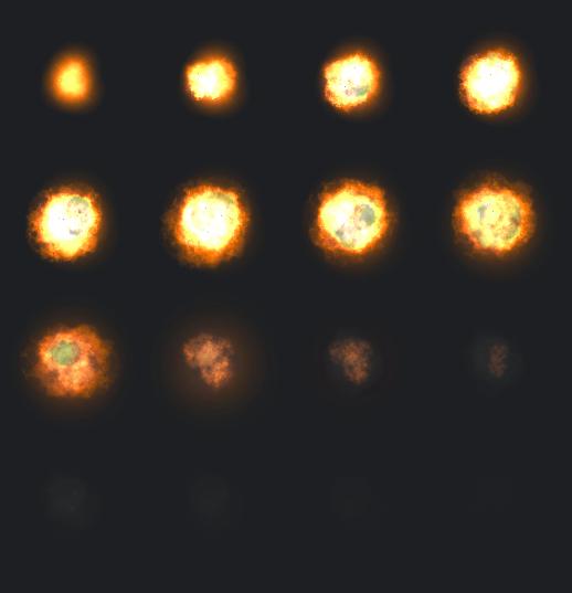 Explosion Sprite Sheet
