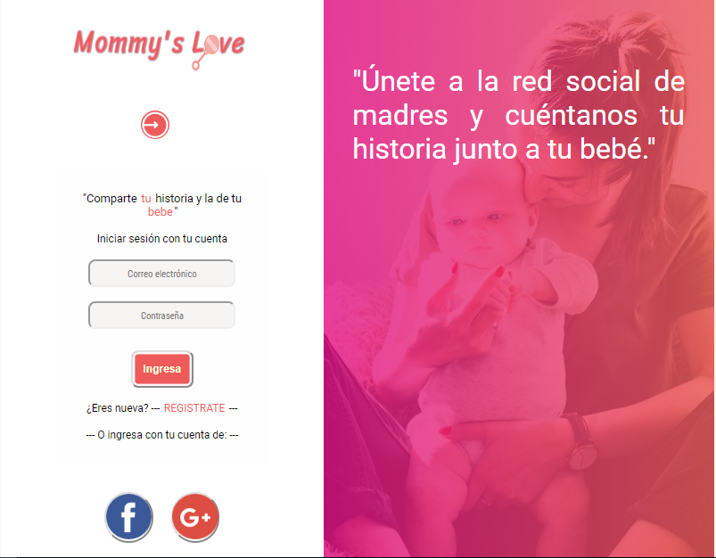 Red social: Mommy's Love