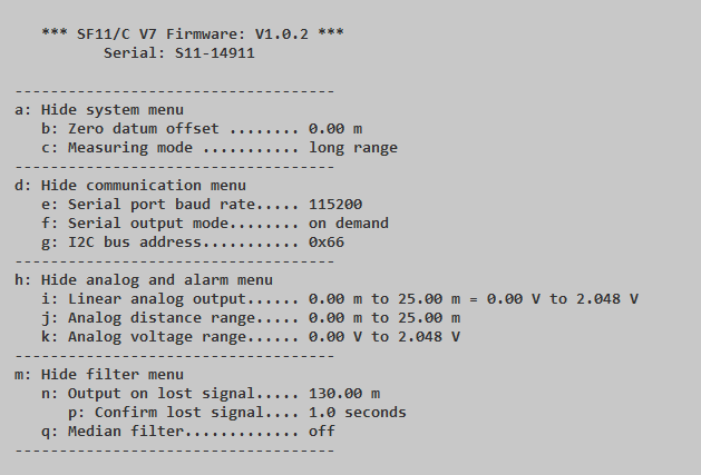SF11/C Laser Altimeter Missing Documentation · Issue #11689 · PX4