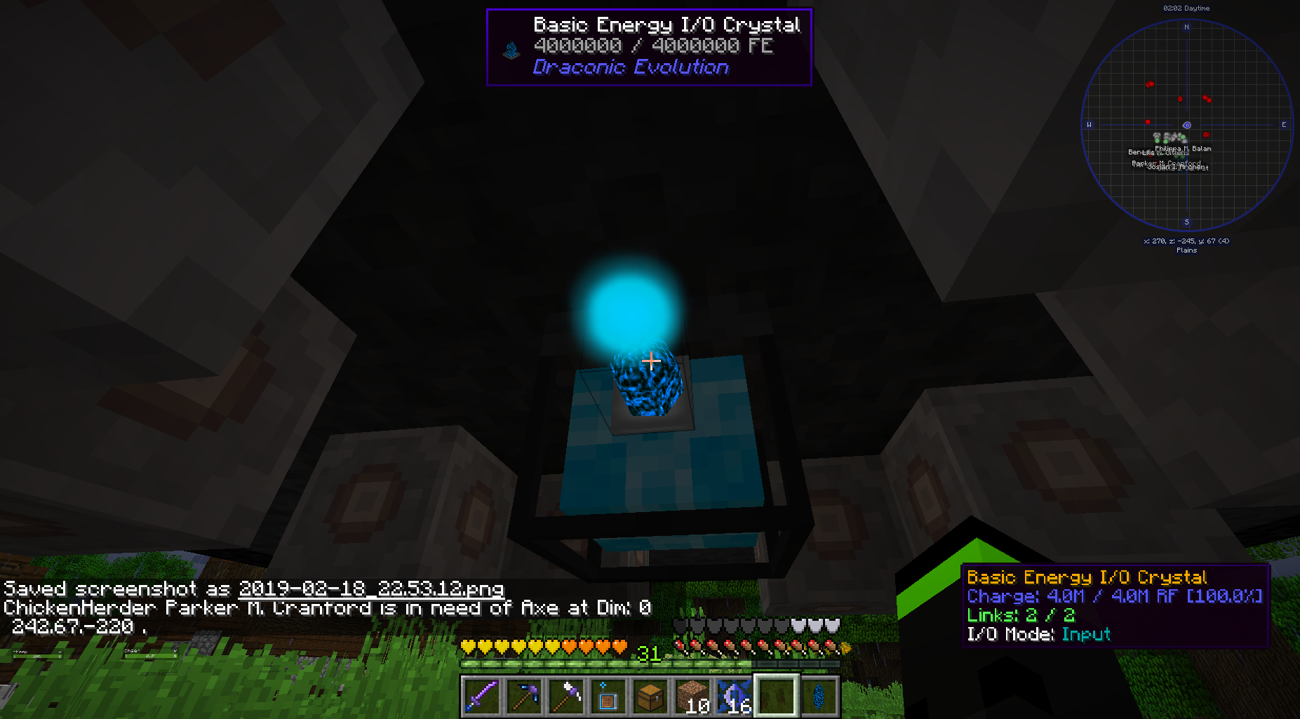 Draconic Evolution Fusion Crafting not working? · Issue #347