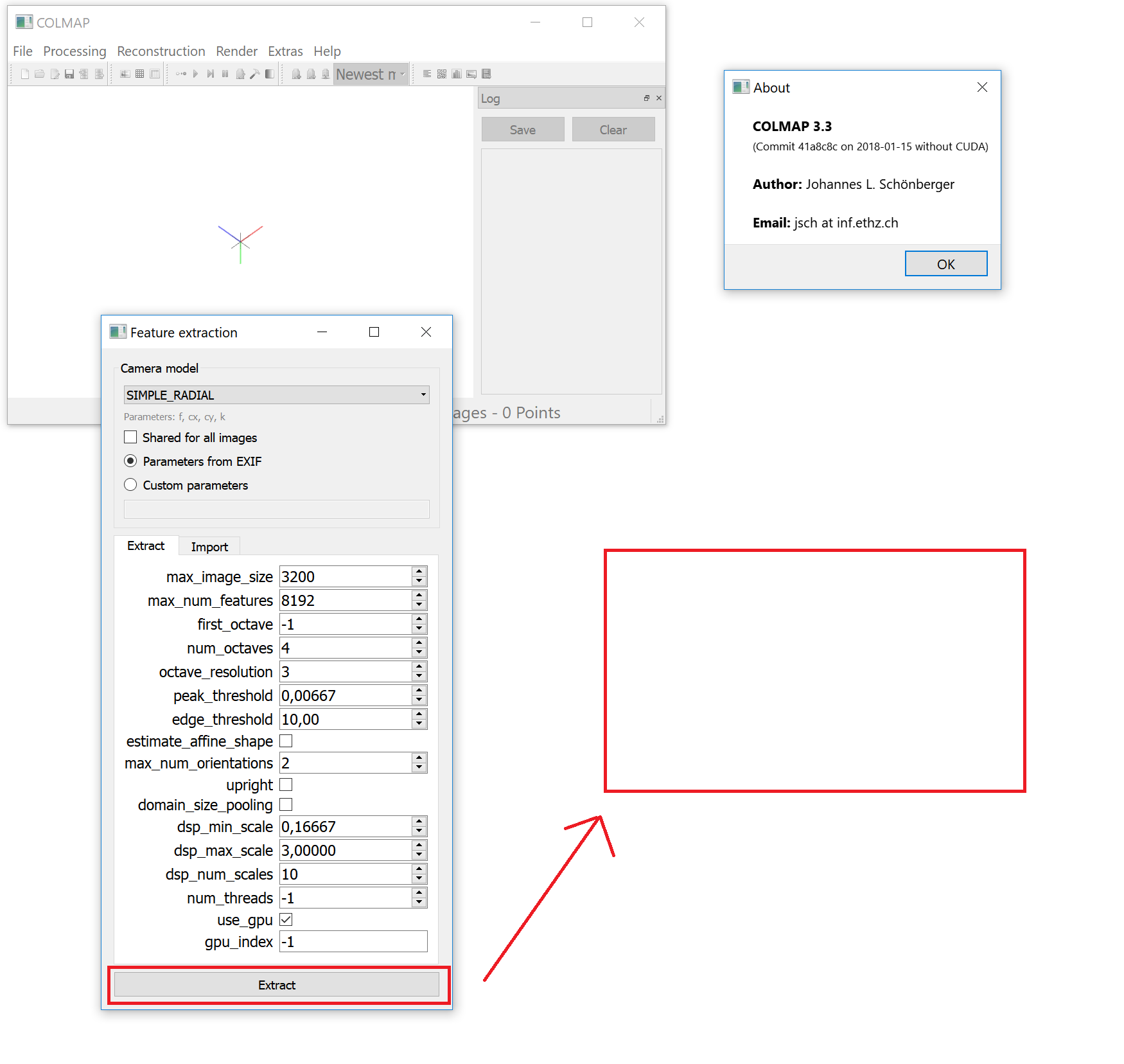 COLMAP 3 3 crash · Issue #276 · colmap/colmap · GitHub