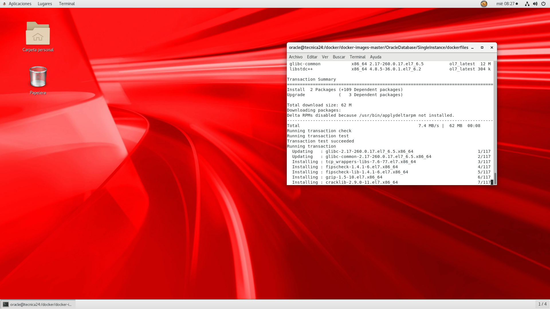 Oracle 18c Installation On Rhel 7
