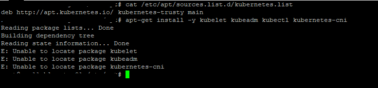 Ubuntu 16 04 LTS - Unable to locate package kubelet, kubeadm