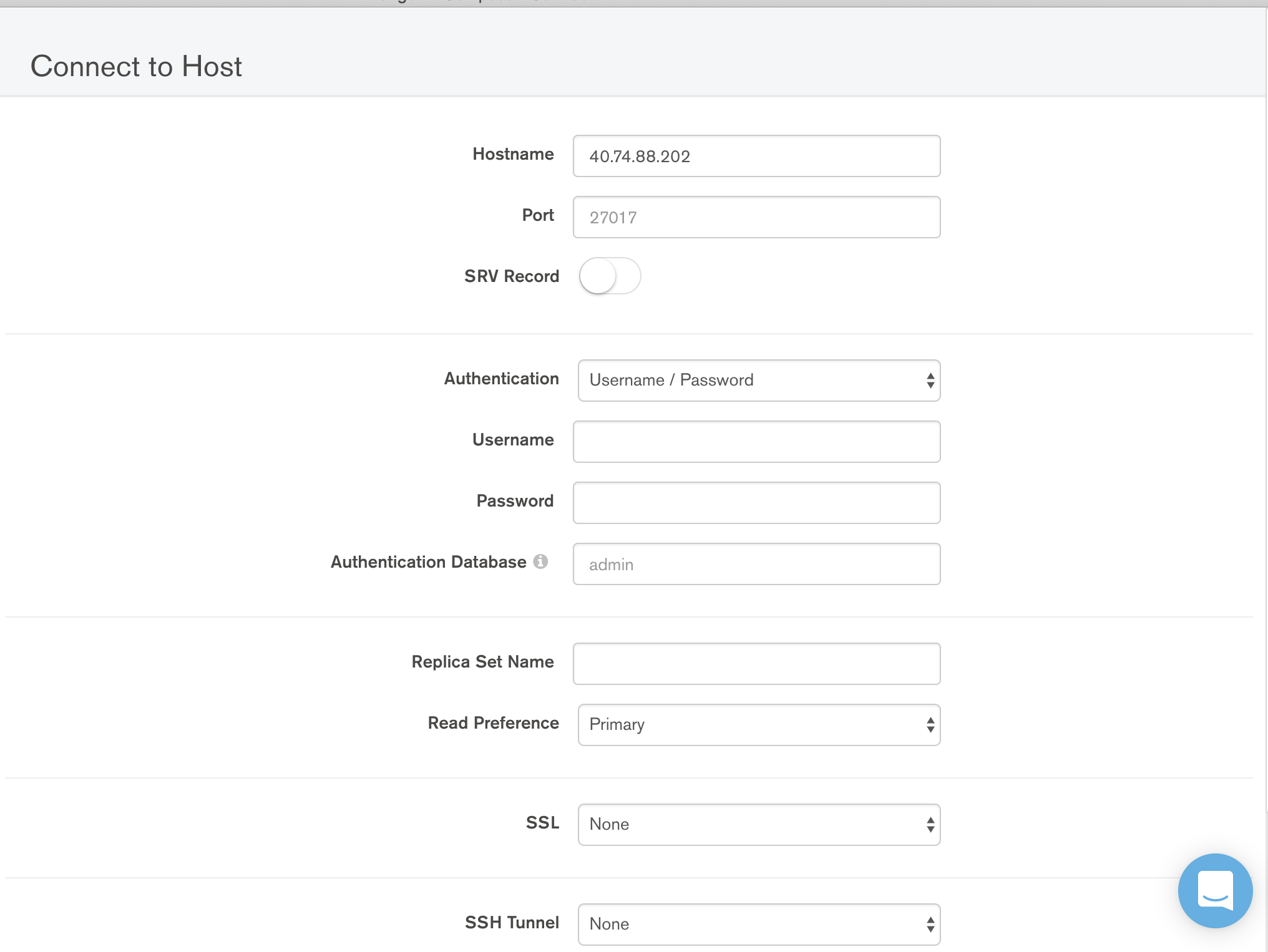 accessing mongodb with authentication · Issue #209 · mongodb/mongo