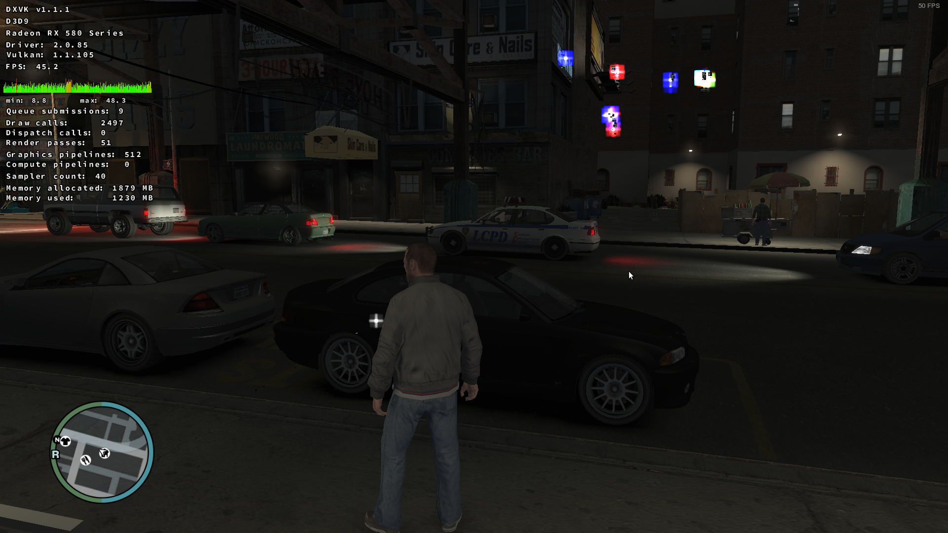 GTA IV - Rendering issues on AMD and Intel