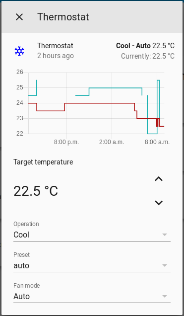 MQTT HVAC History Chart fails to show activity 0 96 1 · Issue #25307