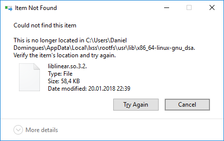 Error 0x800703fa while uninstall/install · Issue #3199