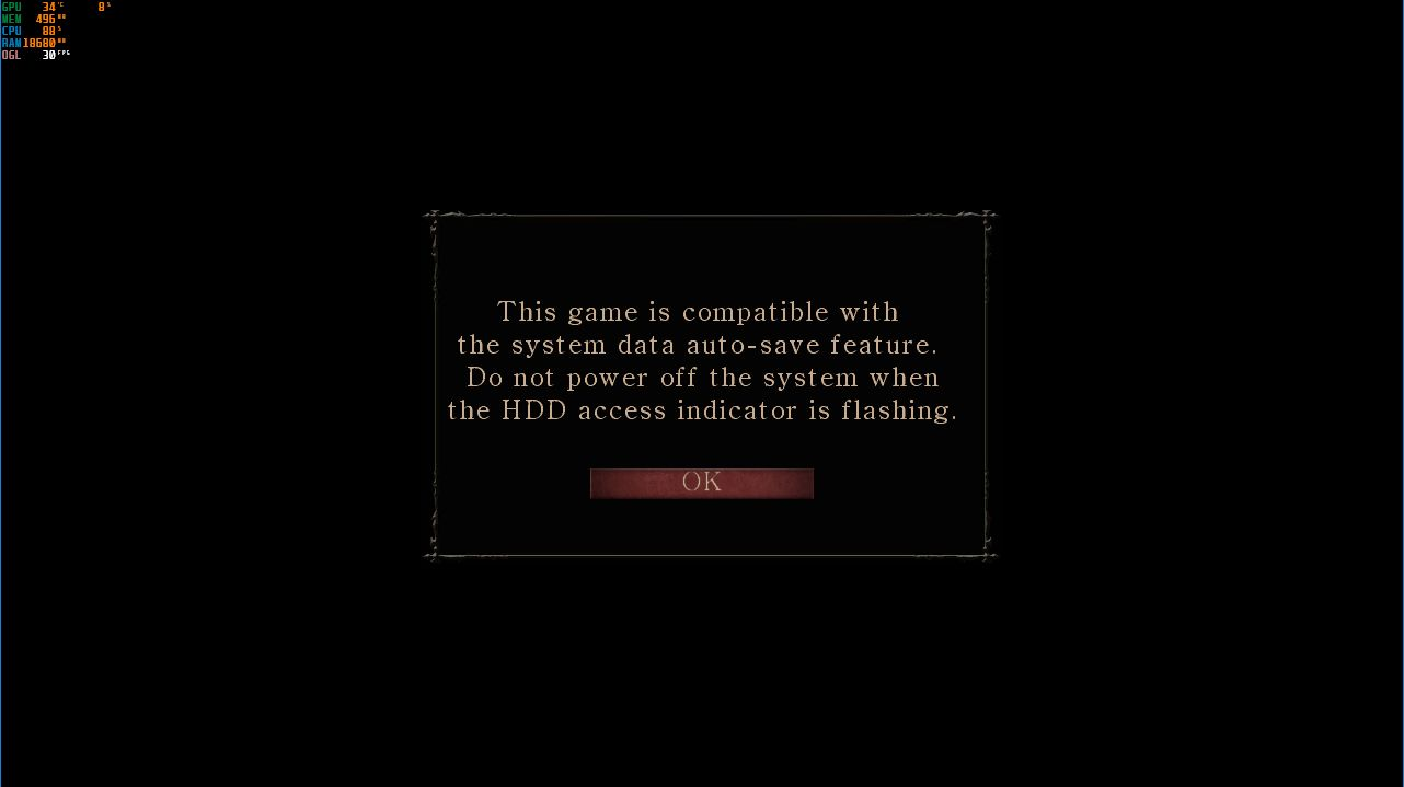 Demon's Souls always freezes at logo screen or during intro