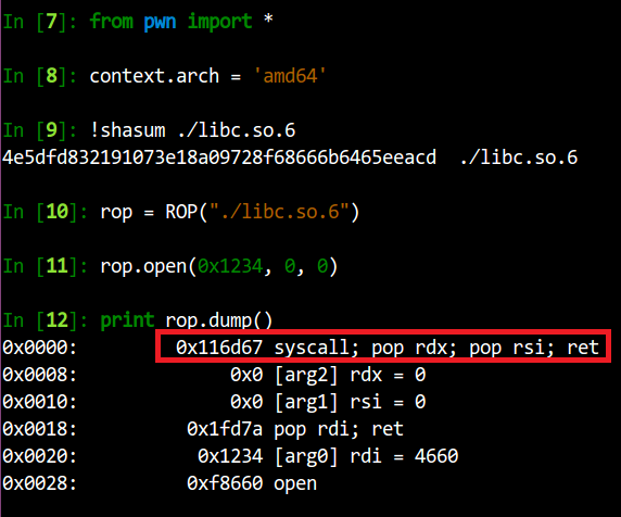 Bug] pwntools select incorrect gadget while doing ROP in x64