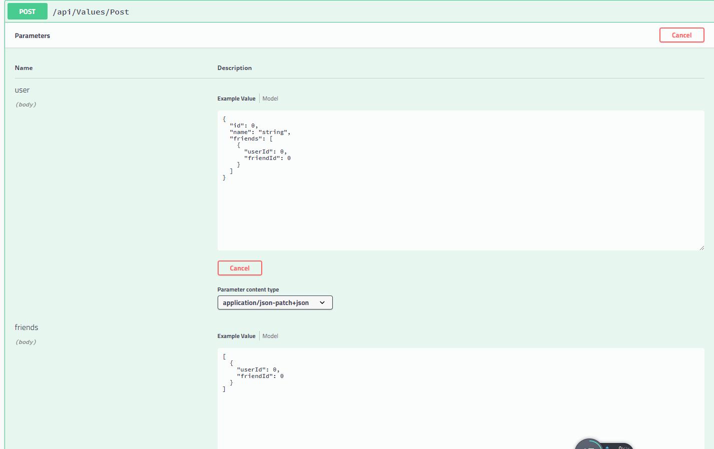 Web Api Post Frombody Multiple Parameters