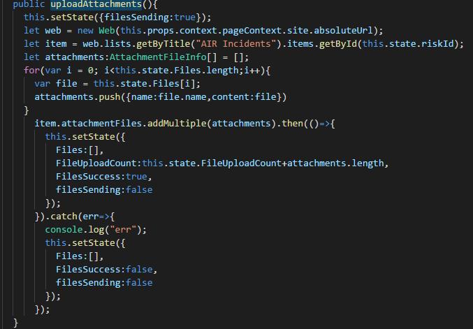 Multiple attachment upload causing 409 conflict error. · Issue #428