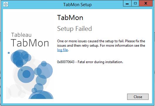Fatal Error during installation - TabMon v1 3 · Issue #198