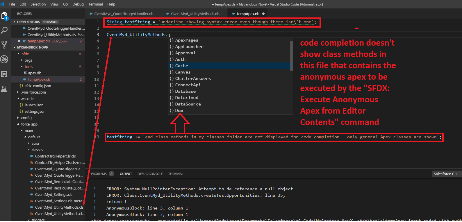 Allow for syntax highlighting and better code completion for