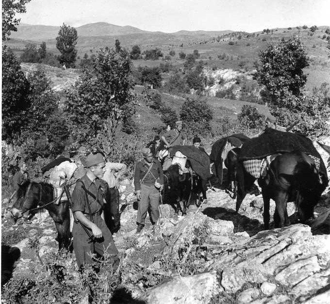 greek partisans
