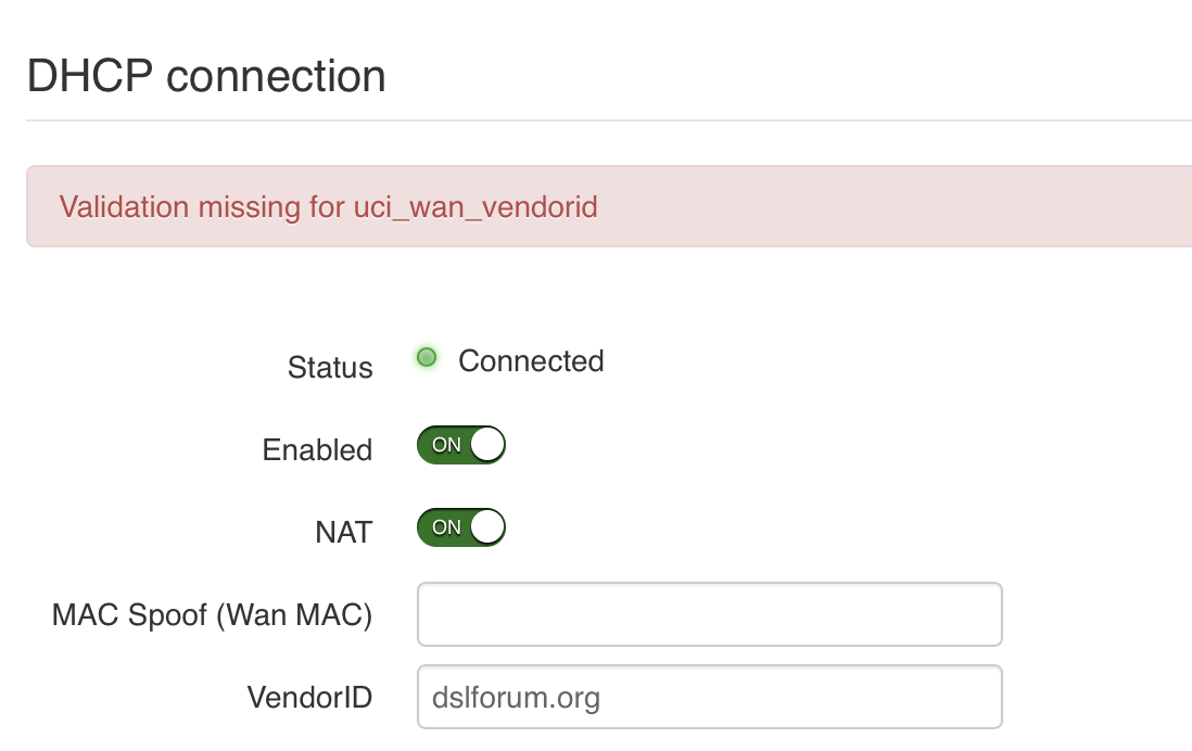 Connection Issue & DNS servers not sticking · Issue #750