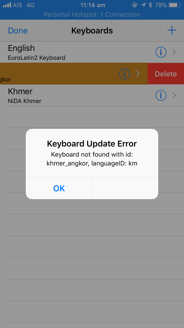 Keyman 10 0 138 fails to update khmer_angkor keyboard from 1 0 2 to