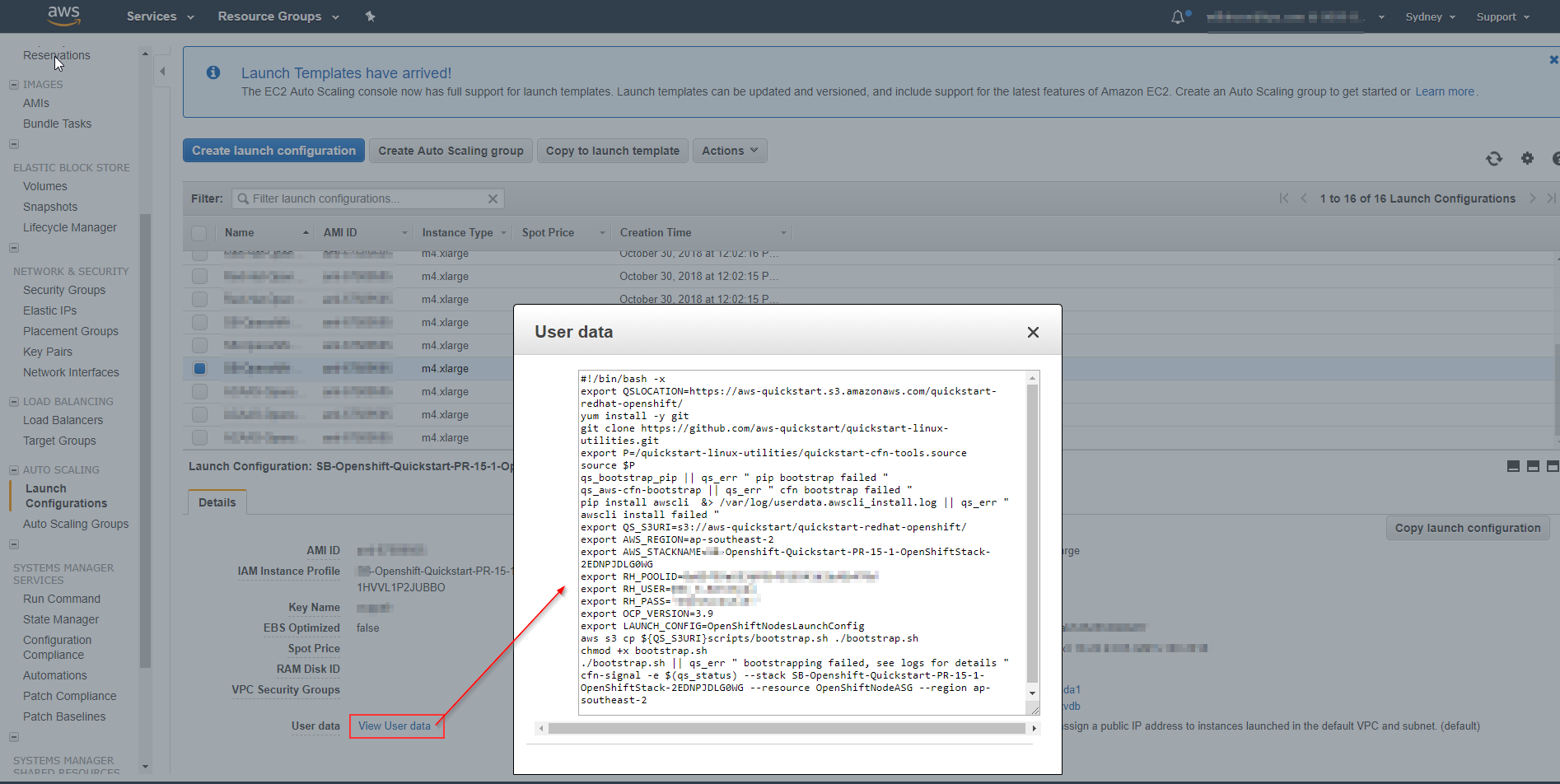Cleartext Secrets in Launch Configuration · Issue #199 · aws