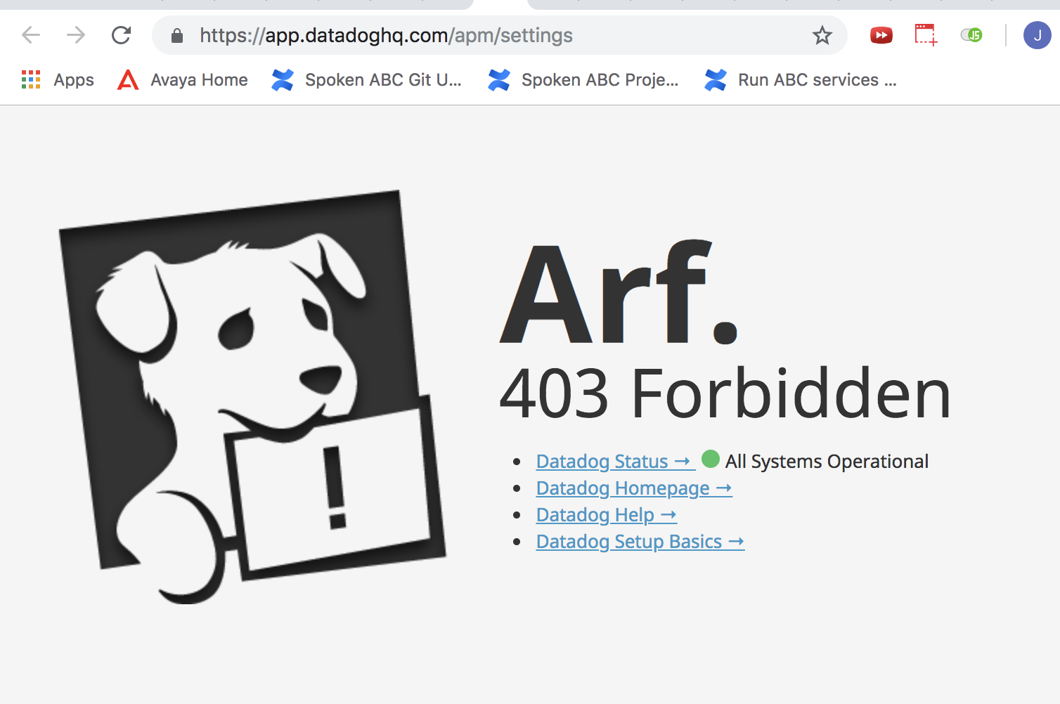HOW TO FIX 403 FORBIDDEN ERROR ON GOOGLE CHROME MAC