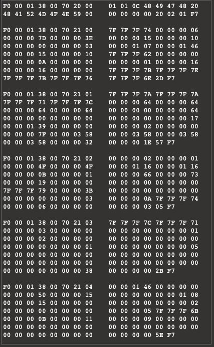 bad sysex data from AudioKit's receivedMIDISystemCommand · Issue