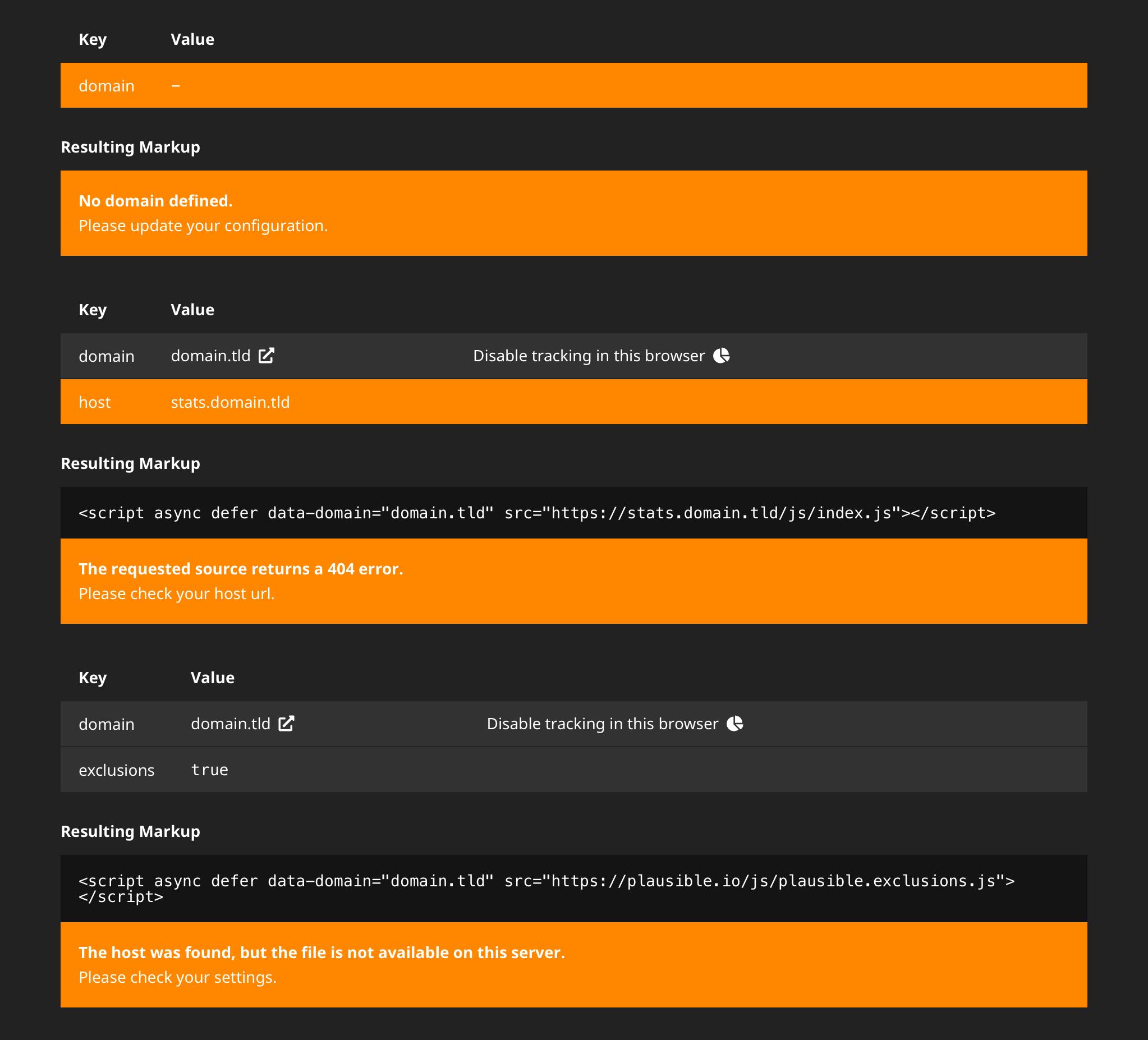 error in the backend module