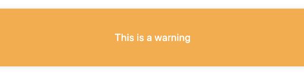screenshot warning