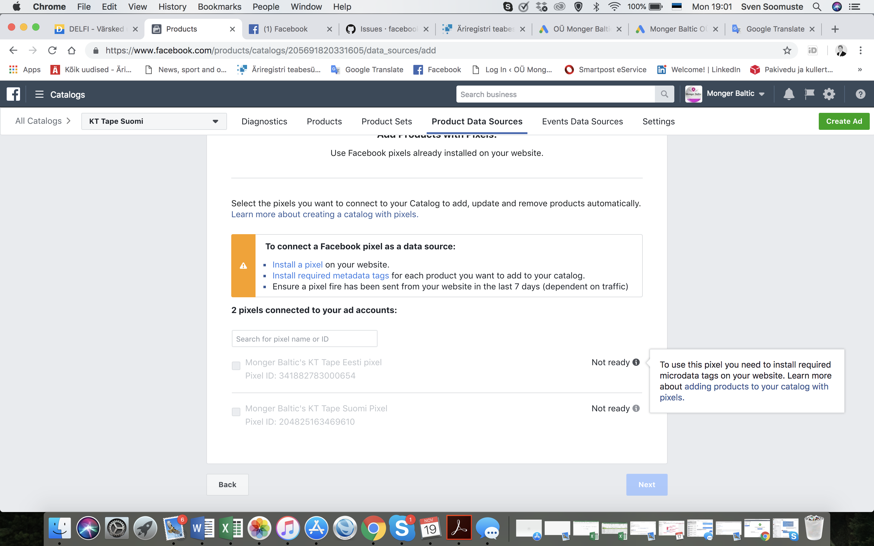 Pixel sync with multiple FB catalogs · Issue #778