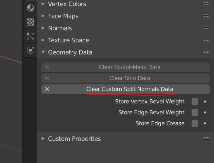 Exporting custom normals imported from an FBX throws error
