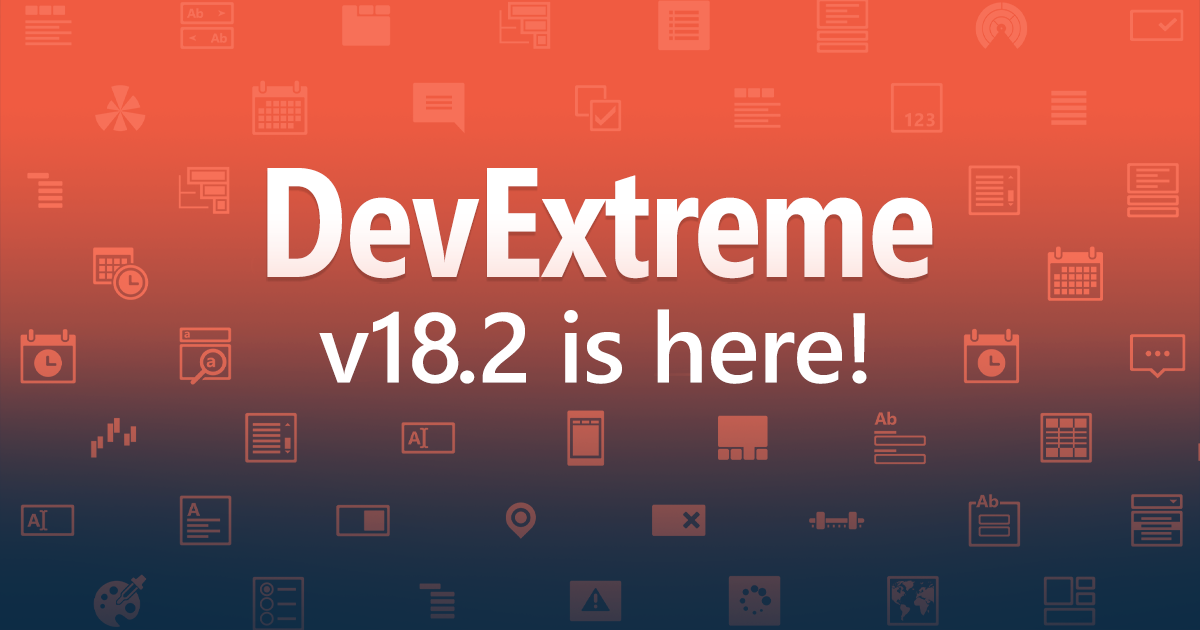 DevExtreme v18.2 is here!
