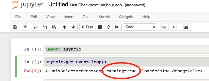 Can't invoke asyncio event_loop after tornado 5 0 update