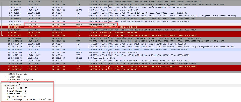 Connect external mysql database by egress gateway does not