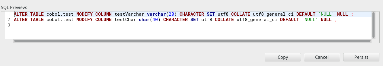 NULL is not correct on char/varchar type · Issue #1913 · dbeaver ...