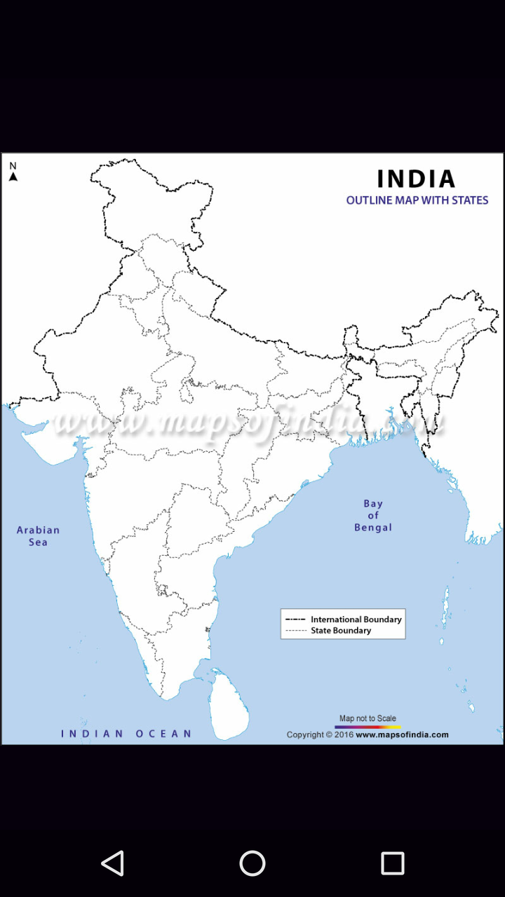 Geo Map shows incorrect demarcation of The State of Jammu ... Show The Indian Map on great indian map, search indian map, sketch indian map, open indian map, live indian map, good indian map, show indian flag,