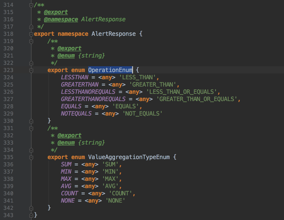 TypeScript] Any typescript codegen removes underscores and