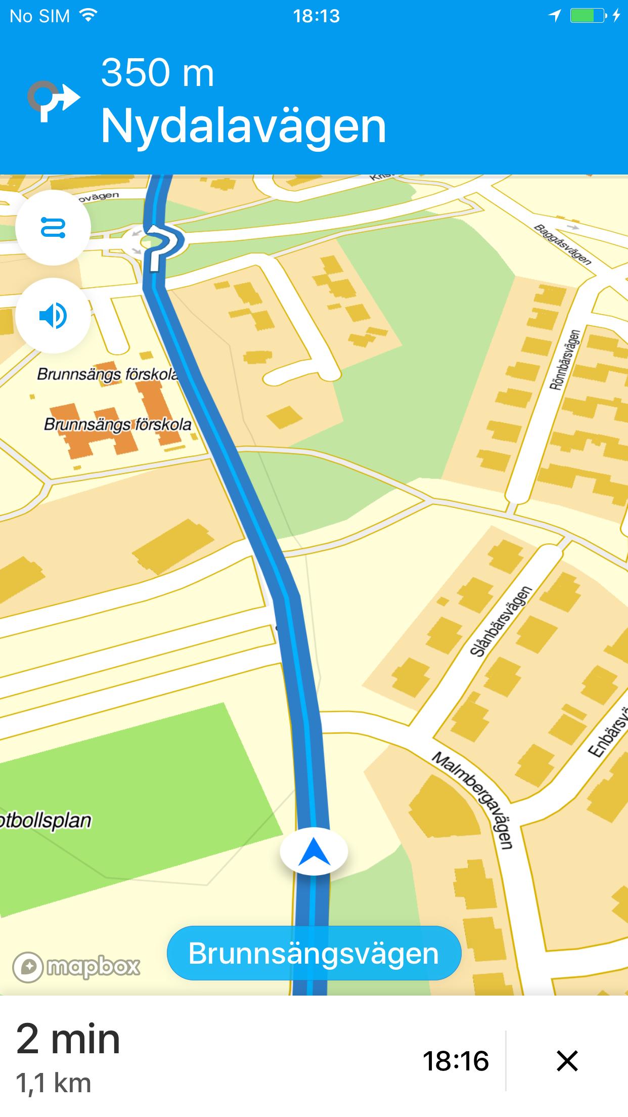 www hitta se karta Incorrect arrow exit indicator on roundabout · Issue #638 · mapbox  www hitta se karta