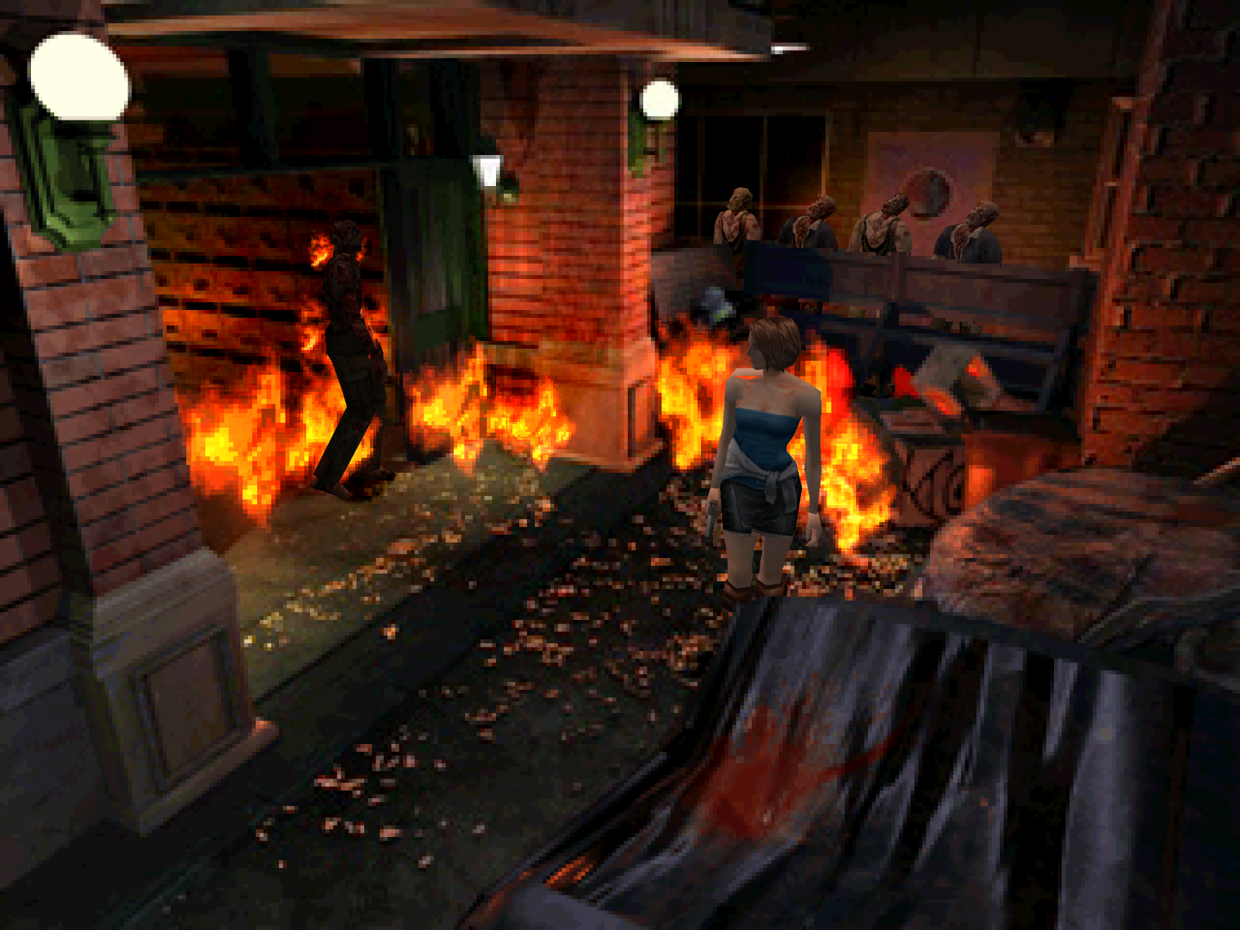 Beetle PSX HW] Resident Evil 3 - No Flames in PGXP Memory + CPU