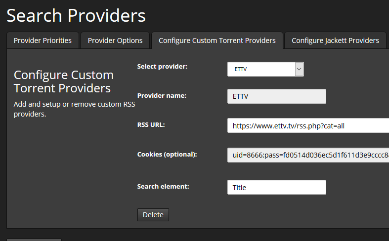 Can Not Get Custom search Providers To Work · Issue #5826