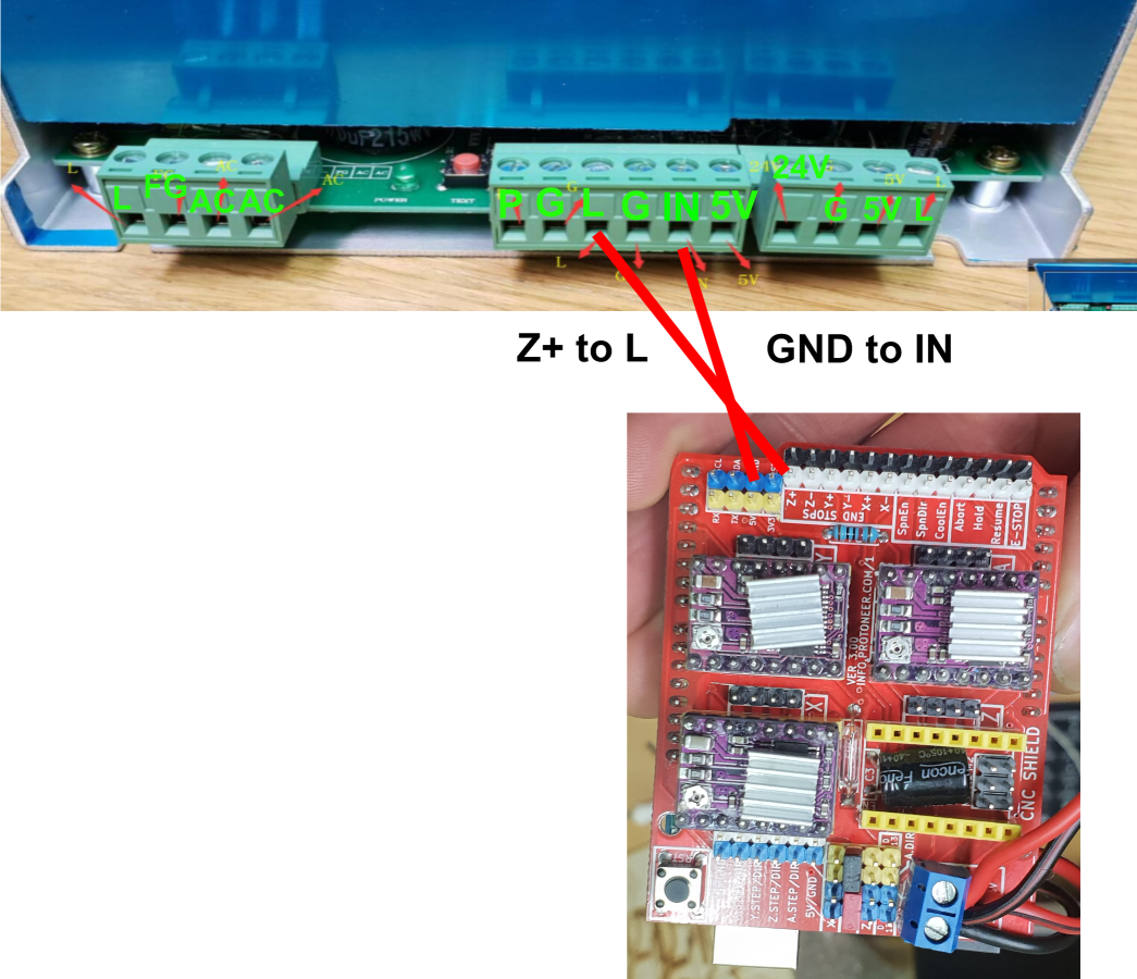 How to connect a CO2 laser power supply to arduino? · Issue