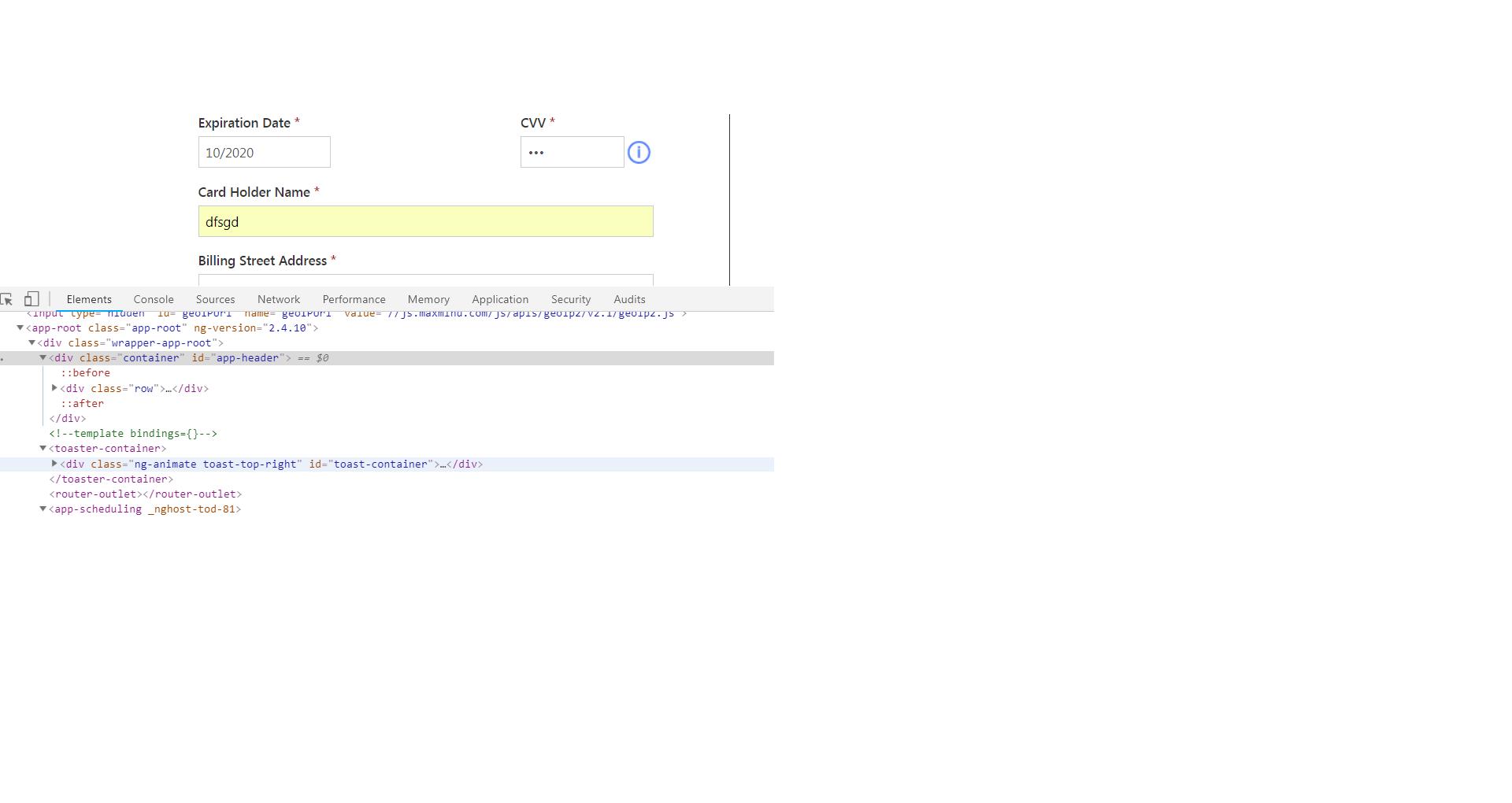 I get WebDriverException: unknown error: angular is not