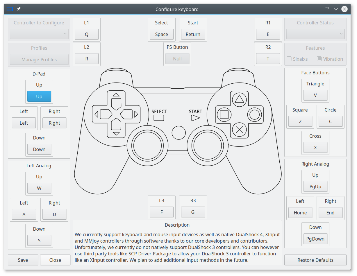Linux] Controller support · Issue #2678 · RPCS3/rpcs3 · GitHub