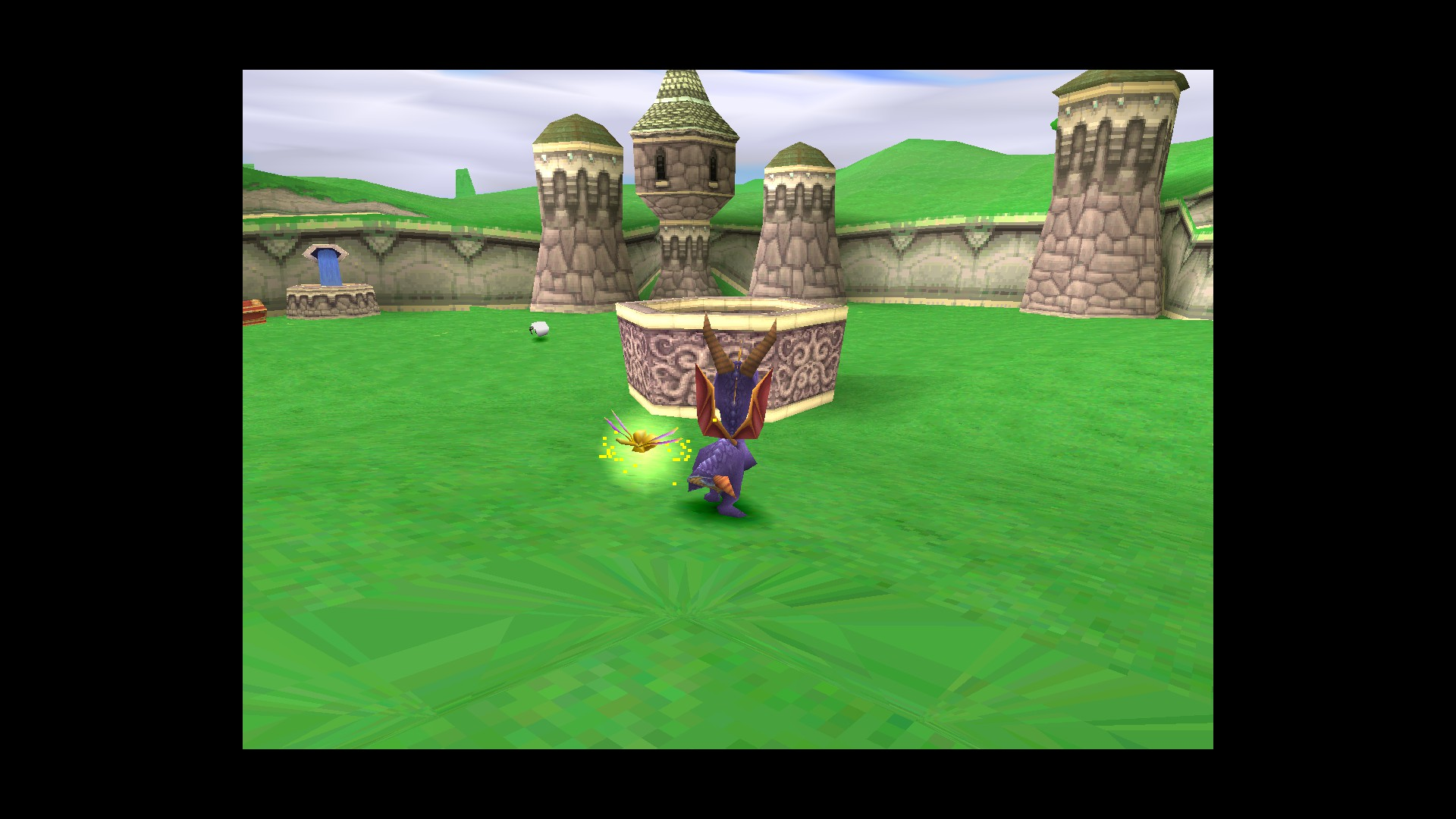 PGXP] Spyro 1 floor textures close to camera glitch with