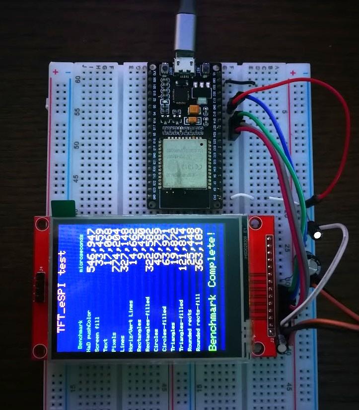 ESP32 HSPI pins with ILI9341 · Issue #294 · Bodmer/TFT_eSPI · GitHub