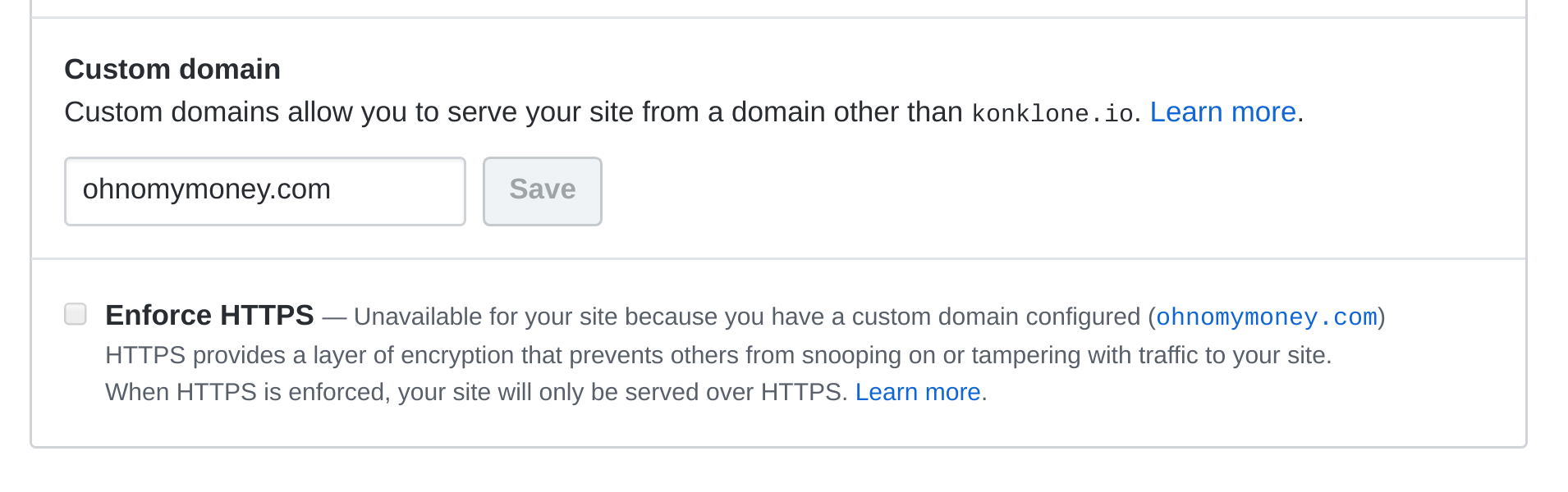 Add https support to github pages including custom domains issue screenshot from 2018 02 18 14 42 58 xflitez Images