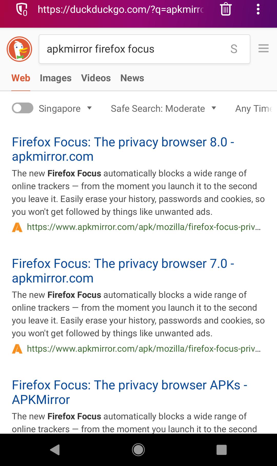 Firefox focus nightly apk   Firefox Focus APK Download V 2 5 (4MB
