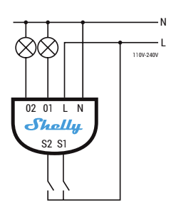Shelly 2 Automatically Turns On Off Relay 2 With External Switch Connected Issue 4665 Arendst Tasmota Github
