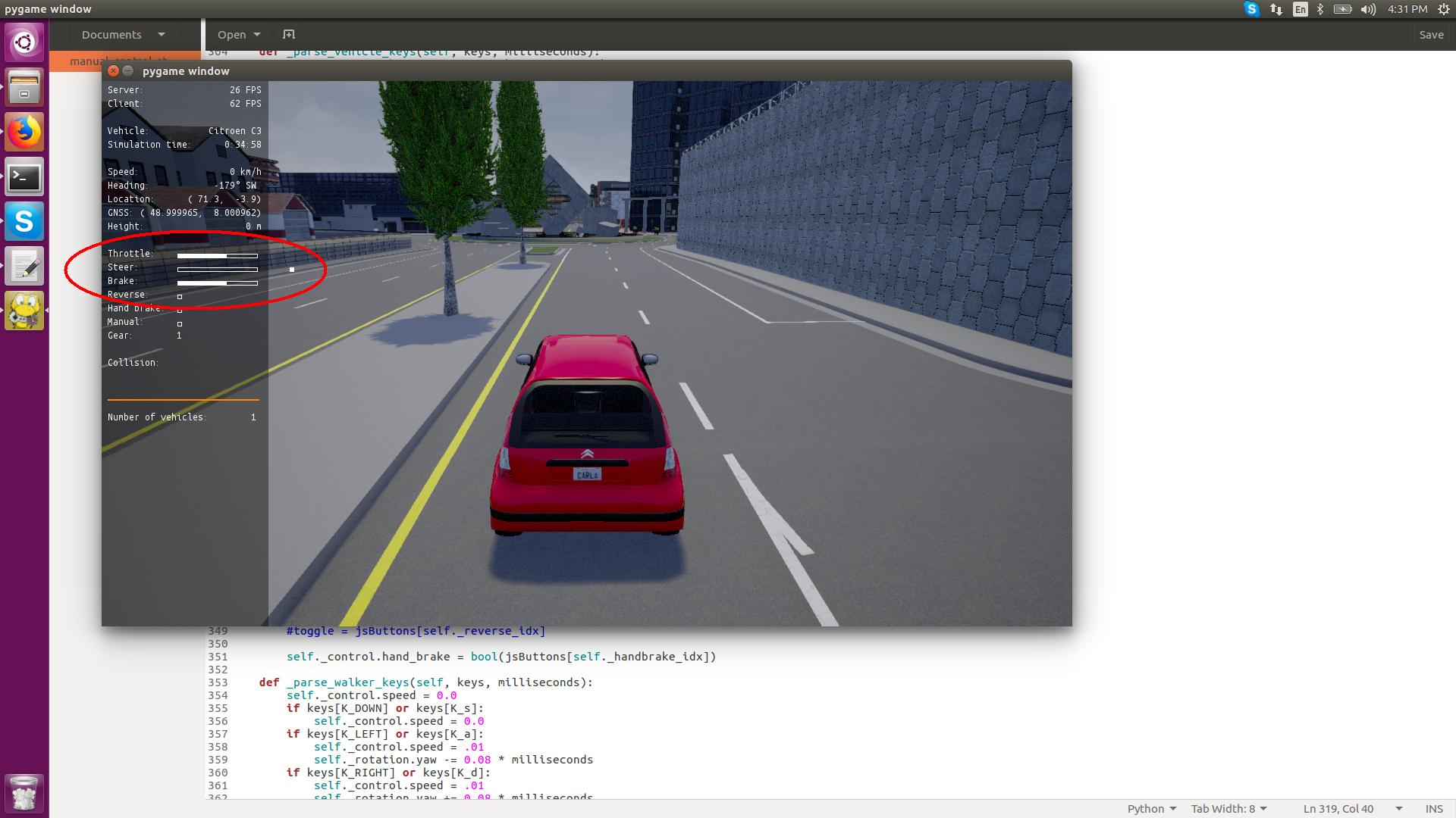 Logitech g29 steering issue · Issue #1521 · carla-simulator