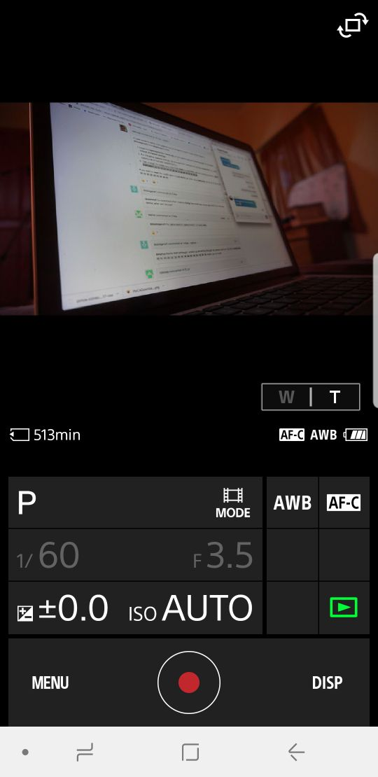 Request] - a6000: Enable video recording for the android