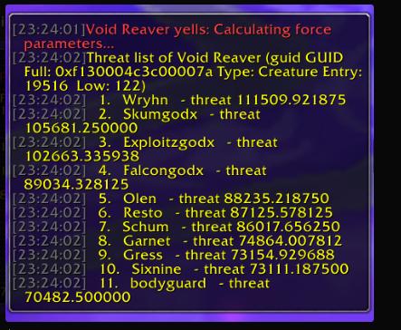 The Eye] Void Reaver · Issue #4311 · SunwellWoW/Sunwell-TBC