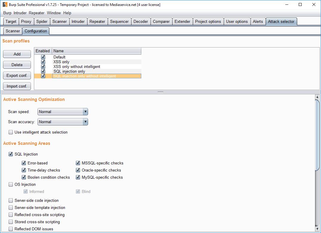GitHub - PortSwigger/attack-selector: Burp Suite Attack
