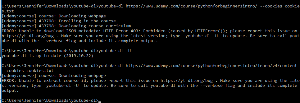 udemy youtube downloader