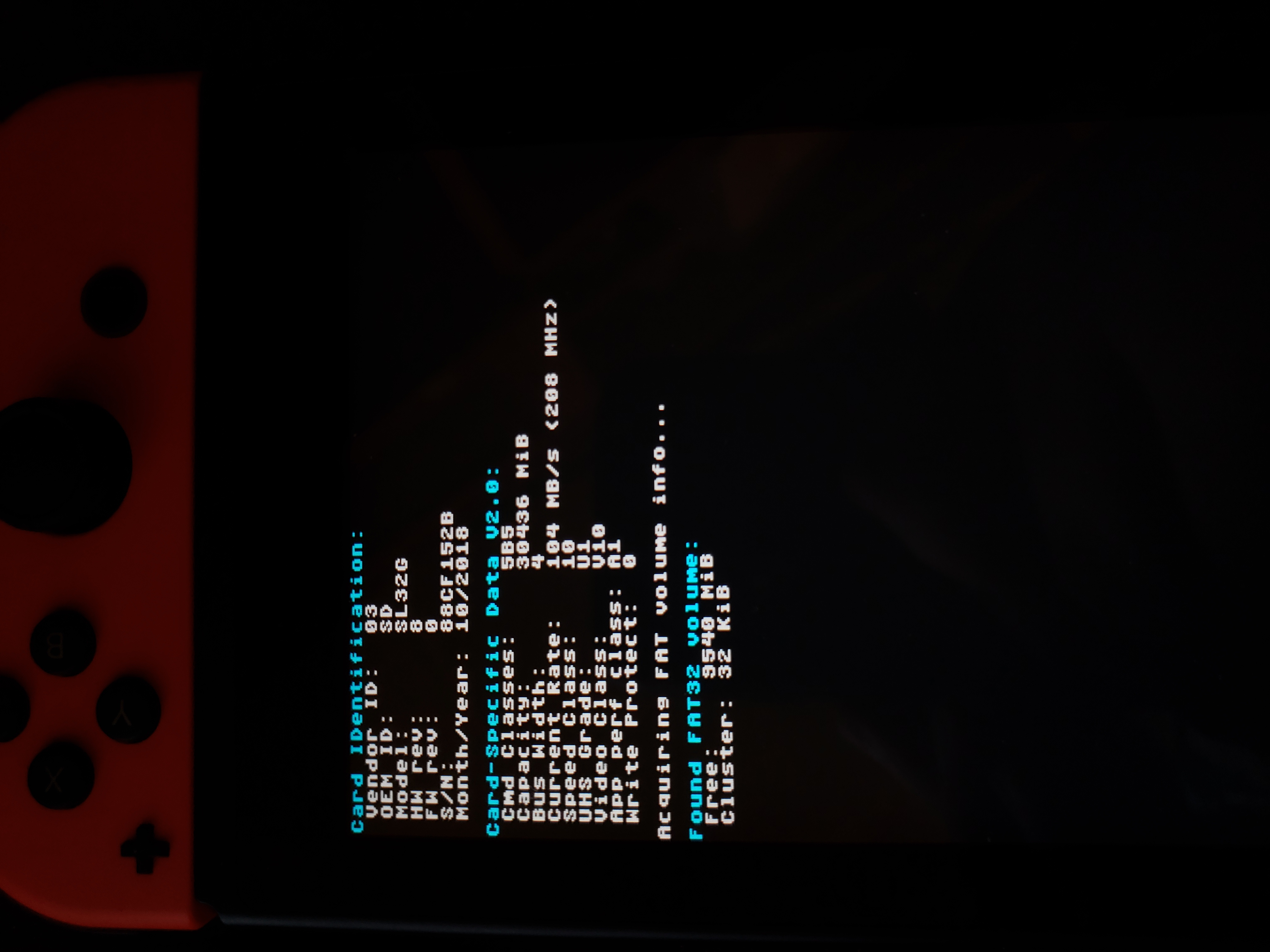 Black screen after Nintendo logo when selecting CFW · Issue #172